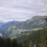 Wengen on the way back